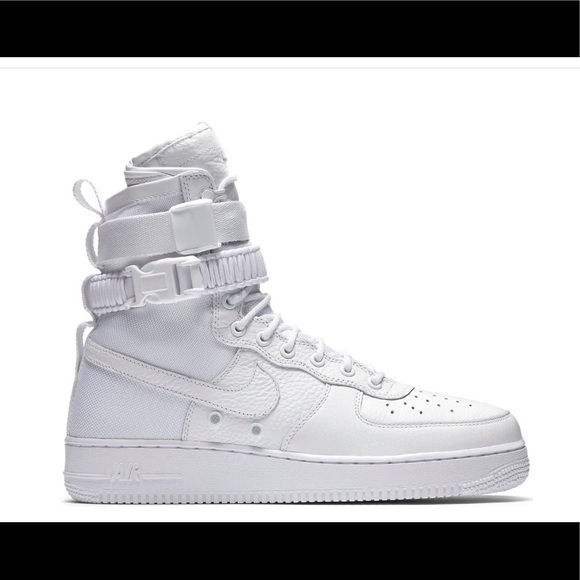 the latest 8284e 08b68 Men s Nike SF Air Force 1 High White • Size 12. M 5c3a7ef3c2e9fec1206739d3